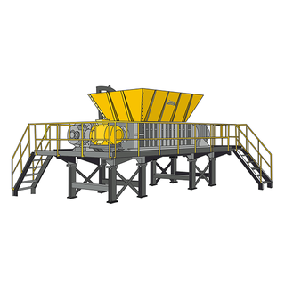 E series double shaft shredder